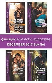 Harlequin Romantic Suspense December 2017 Box Set Killer Colton ChristmasWyoming UndercoverOperation