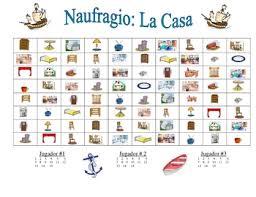 Spanish House And Furniture Speaking Writing Activity Naufragio