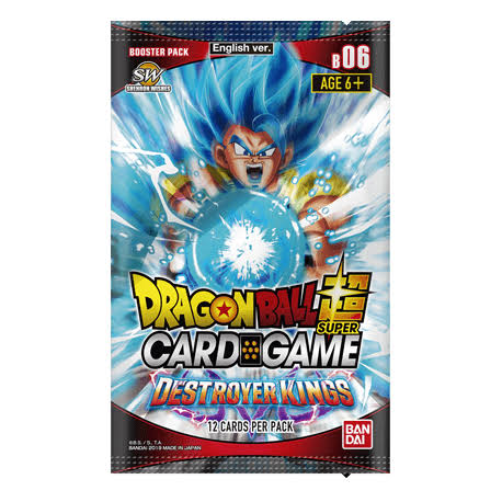 Dragon Ball Super CG: Booster Pack B06 Destroyer Kings
