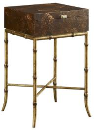 box on stand end table by fine furniture design wolf and