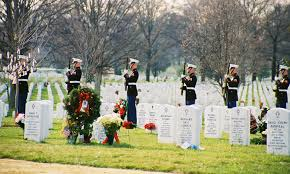 Christmas In Section 60 Arlington National Cemetery