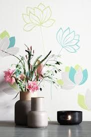 newroom vliestapete blumentapete weiß grau wallpaper floral blumen tapete pflanzen wohnzimmer schlafzimmer büro flur kaufen otto