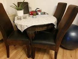 4 stühle runder tisch