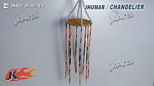 HOW TO Make Jhumar Chandelier Out Of Waste DVD Easy Craft For Kids