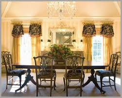 Formal Dining Room Curtains Great Window Decor Of