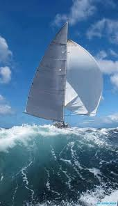 the true meaning of extreme sailing and here i thought sailing