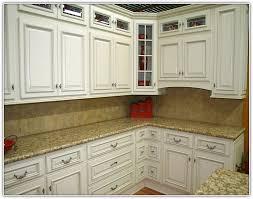 Top Corner Kitchen Cabinet Ideas by Glass Kitchen Cabinets Doors Home Design Ideas