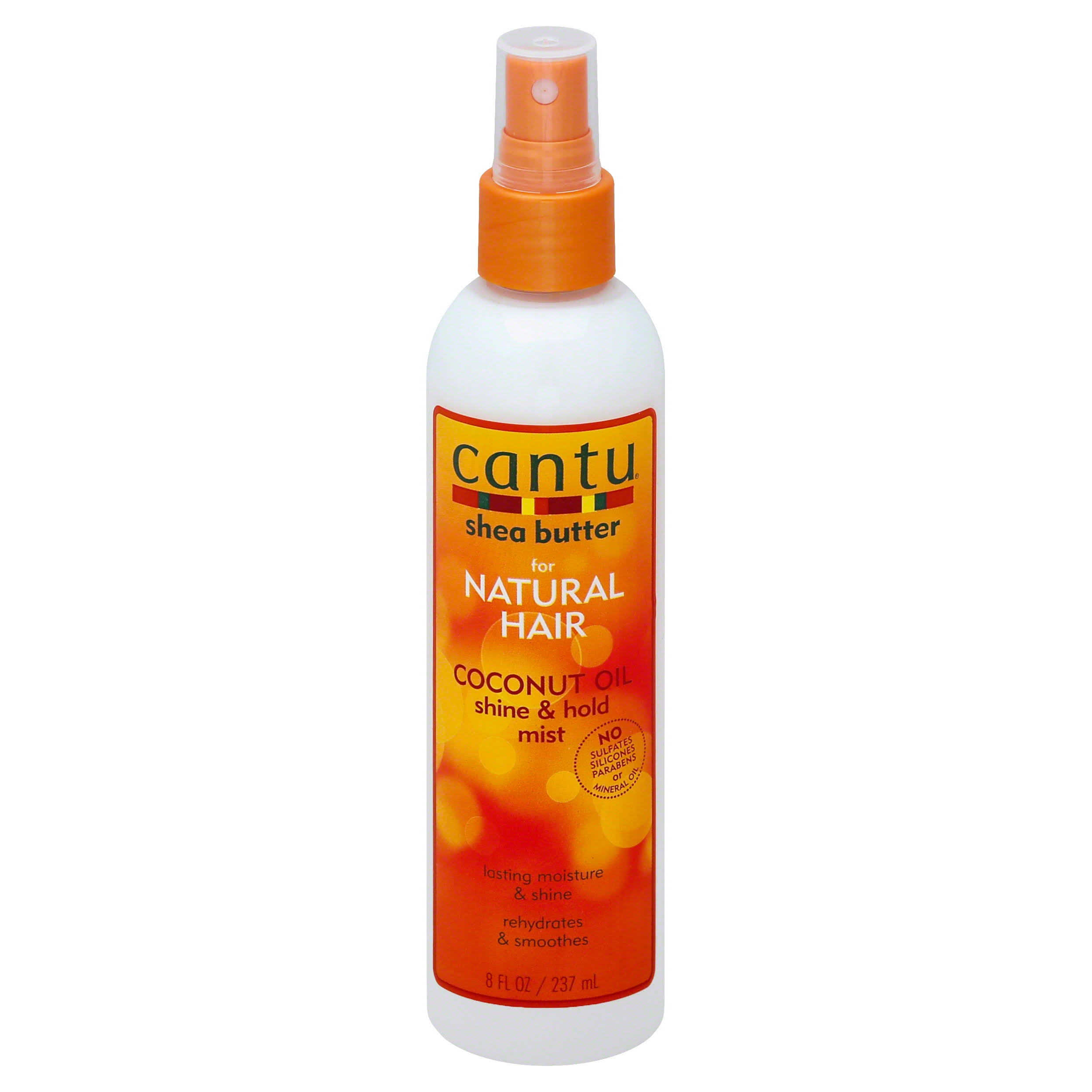 Cantu Shea Butter Coconut Oil Shine and Hold Mist - 237ml