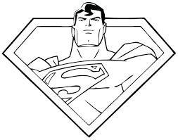 Free Printable Superman Logo Coloring Pages To Print Get This