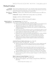 It Systems Administrator Resume Download System Samples