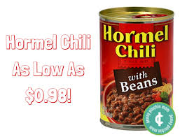 If You Need Chili In A Snap Can Always Grab Of It Pick Up Hormel For As Low Just 098 With New Coupon