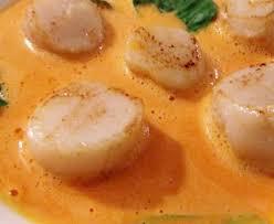 cuisiner les coquilles st jacques surgel馥s noix de jacques sauce corail recette de noix de
