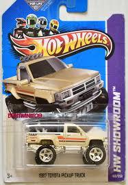 100 1987 Toyota Truck HOT WHEELS 2013 HW HOT TRUCKS HW SHOWROOM TOYOTA PICKUP TRUCK