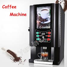 Instant Coffee Machine Commercial Automatic Office Drinks Milk Tea One MachineHot And