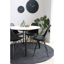 broom teppich ø150 jute dunkelgrau rund läufer wohnzimmer esszimmer modern dynamic 24 de