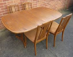 I Am Selling This Lovely Dining Room Suite From G Plan The Table Can Be Extended According To Internet Research Red And Gold Metallic Label Shows