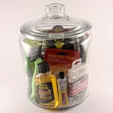 I Started With A One Gallon Anchor Hocking Glass Jar You Can Find These At Target Walmart And On Amazon After Cleaning Drying The Surface Of
