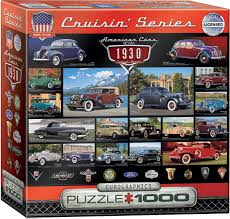 Puzzle American Cars Of The 1930s Eurographics-8000-0674 1000 Pieces ...