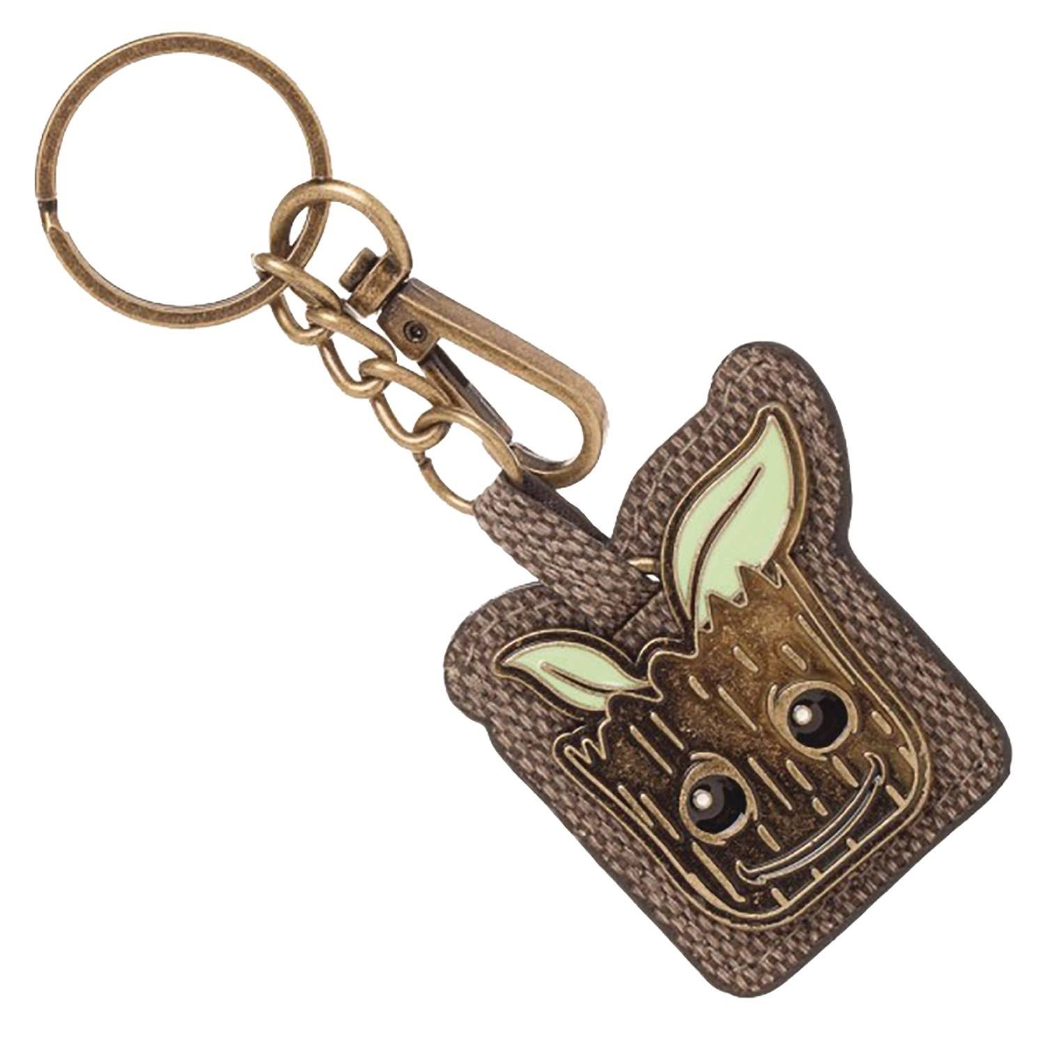 Groot Guardians of The Galaxy PU Keychain