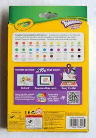 Crayola Bathtub Crayons Collection by Crayola Twistables Colored Pencils With Color Alive What U0027s Inside