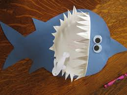 Craft Ideas For Kids Projects Little Crafter Shark Paper Plate