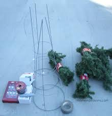 Outdoor Topiary Trees Real Spiral Christmas Pszczelawolainfo