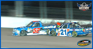 Contact With Johnny Sauter Sends Stewart Friesen Spinning | NASCAR.com Eldora Truck Race Features Unique Format Nascar Sporting News Camping World Truck Series To Air On Antenna Tv 2018 Schedule Youtube Gateway Motsports Park Weekend June 17 At Results Matt Crafton Wins Dirt Derby Jive And Driver John Wes Townley Team Up For The Toyota Paint Scheme Design Cody Coughlin Five Watch Chase Breakdown Fox Sports Elevates Camping World Truck Series Race