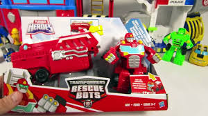 100 Rescue Bots Fire Truck NEW 2016 TRANSFORMERS RESCUE BOTS HEATWAVE HOOK LADDER FIRETRUCK