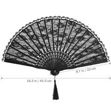 Amazon.com: Decorative Fans - Black Spanish Victorian Hand ... Victorian Bamboo Folding Screen The Annual Singapore Design Week Is Back With Over 100 Vtg Pair Parzinger Rattan Woven Chair Regency Victorian Design Mirror Antique Bamboo 3 Tier Table In Rh11 Crawley For Folding Campaign Chair Hoarde Az Of Fniture Terminology To Know When Buying At Auction French Colonial Faux Restoration Project C1900 Walnut Deck Circa A Guide Buying Vintage Patio Fniture V Studio Forest On The Roof Divisare