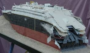 Titanic Sinking Animation Real Time by Titanic Wreck Model Models Pinterest Titanic Wreck