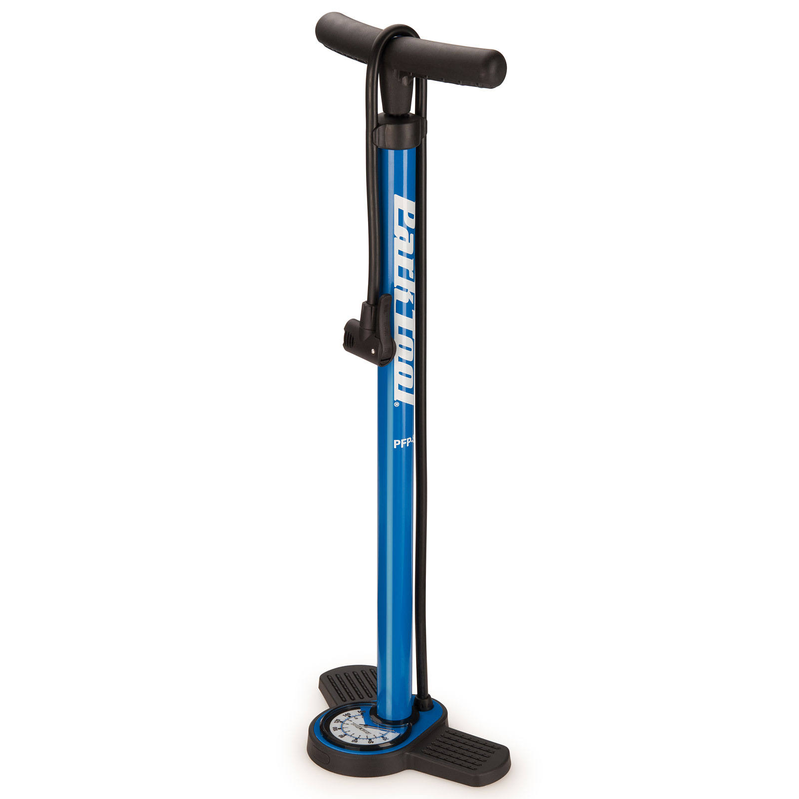 Park Tool Home Mechanic Floor Pump - Blue/Black