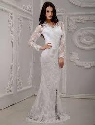 white long sleeve lace gown simple guide to choosing dresses ask
