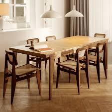 gubi s table rechteckig 95 x 220 cm eiche matt lackiert