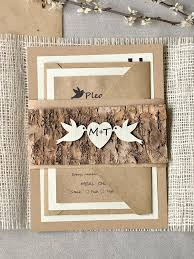 Wedding Invitations Country Rustic Bridal World Ideas Intended For Unique