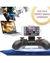 RK Game 4th Bluetooth Gamepad Wireless 4 0Joystick For IOS for Android black