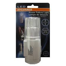 shop sylvania white led light with auto on at lowes