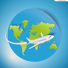 Travel Plane Clipart