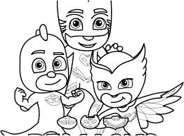 Pj Masks Coloring Pages Page Romeo