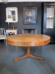 Wonderful 1950s 60s Heals Dining Centre Table In Walnut