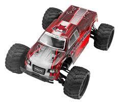 100 Red Monster Truck Cat Racing Volcano 118 With V2 VOLCANO18V2