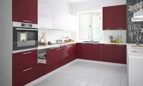 küchenzeile l form küchenblock rimini 325x223cm grau signalweiß purpurrot matt lackiert