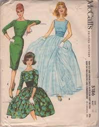 McCalls 5186 Vintage 50s Sewing Pattern INCREDIBLE Grace Kelly Double Chiffon Ball Gown Skirt Wedding Dress