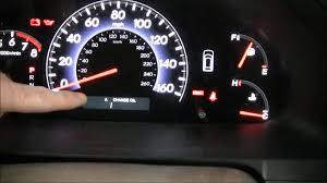 how to reset the 2009 honda odyssey maintenance light youtube