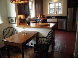 A Perfect Option For Narrow Kitchen table Spaces — Home Design Blog