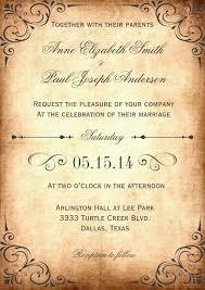 Vintage Wedding Invitation Template Rustic S Free Sample Exampl On Winter Wonderland Invitations