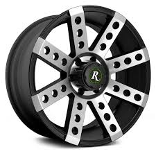 100 Eagle Wheels For Trucks REMINGTON BUCKSHOT TRUCK Satin Black With Machined Face