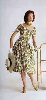 1960s Fashion Classic Vintage Style 1960 Clothing 1950s Dresses Couture