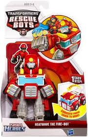 100 Rescue Bots Fire Truck Transformers Playskool Heroes Heatwave The