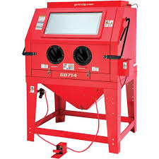 Central Pneumatic Blast Cabinet by Industrial Blast Cabinet Grizzly Industrial