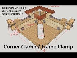 Corner Clamp Frame Jig